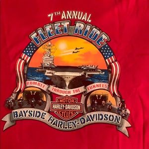 Harley Davidson - Bayside, Portsmouth, VA T Shirt